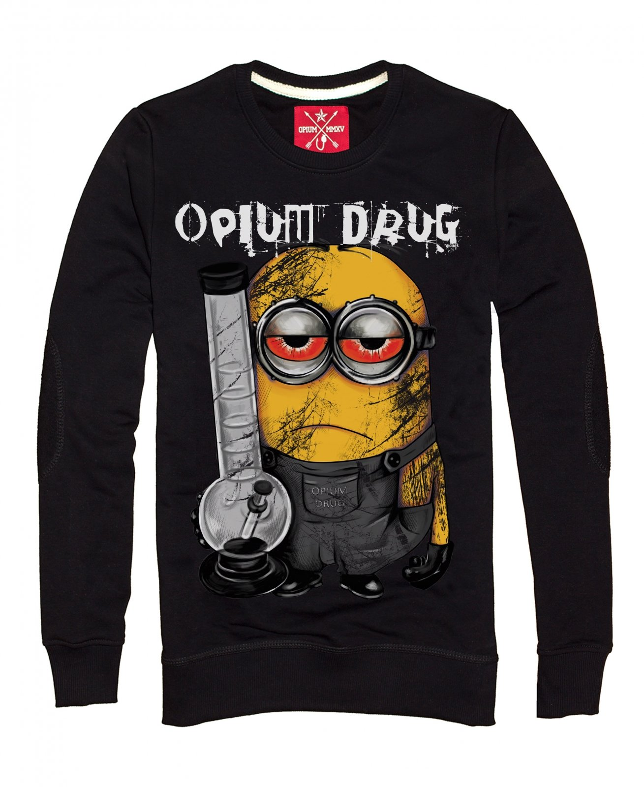 c51ccf5a3 Men's sweatshirt Minion | OPIUM — The press on t-shirts Kiev